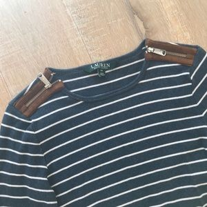 Ralph Lauren striped long sleeve shirt XS